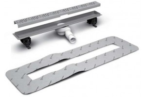 Лінійний трап Radaway, для укладання плиткою від 5 до 7мм, 550мм (5L055B)