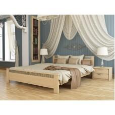 Двоспальне ліжко Естелла Афіна 180х200 буковий щит (DV-28)