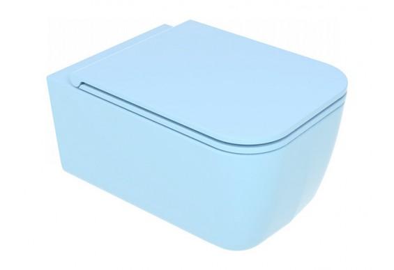 Підвісний унітаз GSG BRIO 52,5 см Smart Clean matt Sky (BRWCSO023)