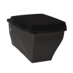 Підвісний унітаз ArtCeram Blues, glossy black (BUV0010300)