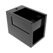 Підлогове біде GSG BOX 53 см glossy Black (BXBI01002)