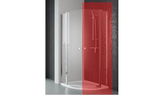 Ліва частина душової кабіни Radaway Eos II PDD 100, прозоре (3799472-01L)
