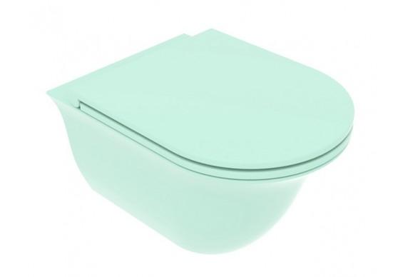 Підвісний унітаз GSG Flut 52,5 см Smart Clean matt Water (FLWCSO025)