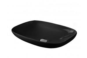 Умивальник на стільницю ArtCeram La Fontana, glossy black (LFL0060300)