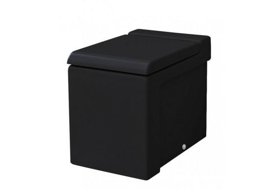Підлоговий унітаз ArtCeram La Fontana, glossy black (LFV0050300)