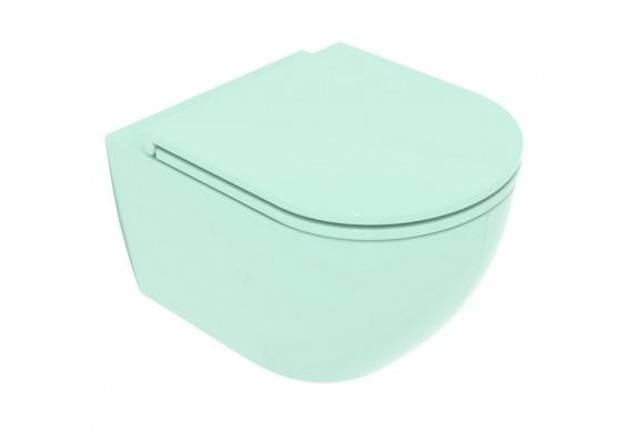 Підвісний унітаз GSG LIKE XXS 48,5 см Smart Clean glossy Water (LKWCSOXXS024)