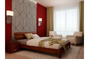 Двоспальне ліжко НеоМеблі Лагуна 180х190 (NM26)