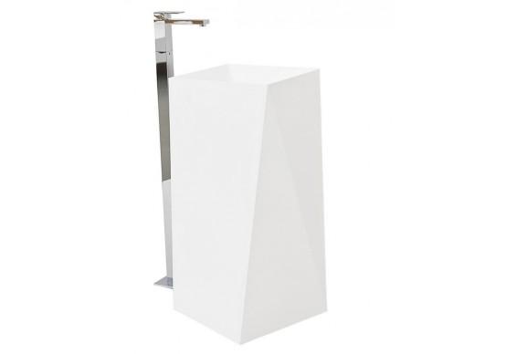 Підлоговий умивальник ArtCeram Oneshot sharp, white (OSL0080100)