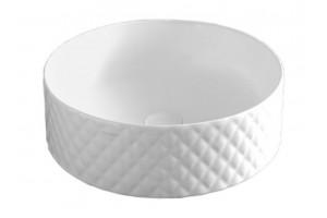 Умивальник на стільницю ArtCeram Rombo, matt white (OSL0090500)