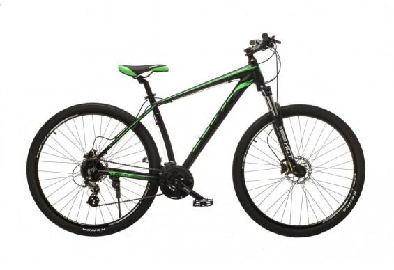 """Велосипед Oskar 29"""" JURA, чорно-зелений (29-1806h-gn)"""
