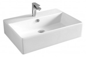 Підвісний умивальник ArtCeram Quadro 65, white (QUL0030100)