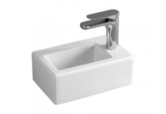 Підвісний умивальник ArtCeram Fuori box 20, white (TFL0310100)