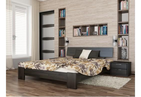 Двоспальне ліжко Естелла Титан 160х200 буковий щит (DV-38)