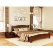 Двоспальне ліжко Естелла Венеція Люкс 140х190 буковий щит (DV-13.2)
