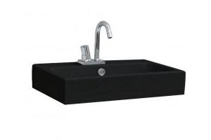 Підвісний умивальник ArtСeram Block, glossy black (BKL0010300)