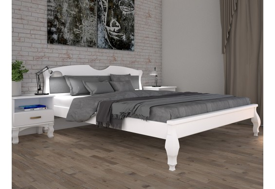 Двоспальне ліжко ТИС Корона 3 180x200 бук (TYS452)