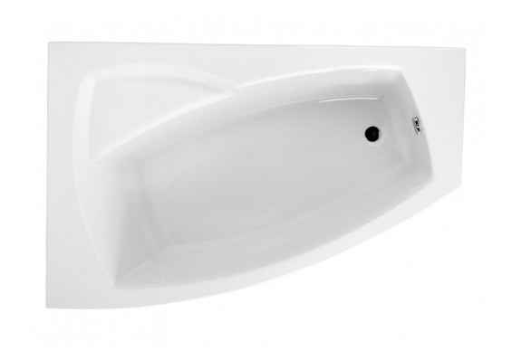 Ванна Polimat Frida асиметрична 160х105, L (00977)