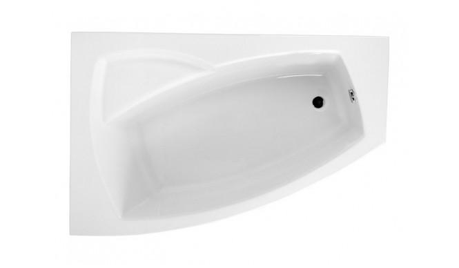 Ванна Polimat Frida асиметрична 160х105, L + ніжки (00977)