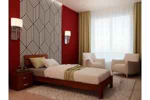 Односпальне ліжко НеоМеблі Лагуна 90х190 (NM2)