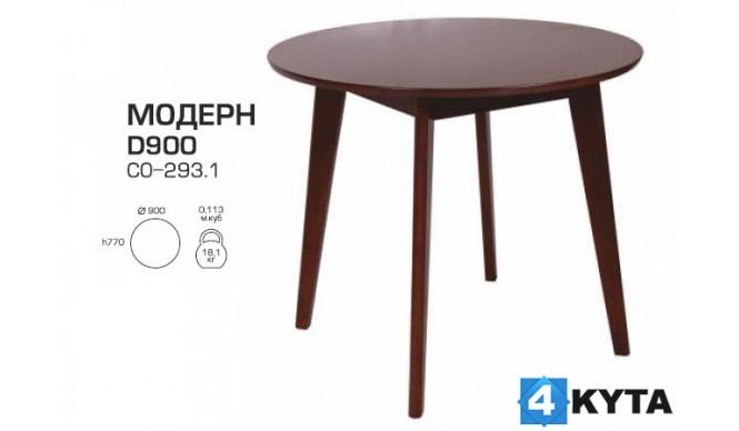 Стіл обідній Мелітополь Меблі Модерн D900 (СО-293.1)