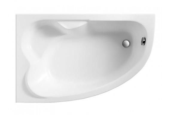 Ванна Polimat Noel асиметрична 140х80, L + ніжки (00852)