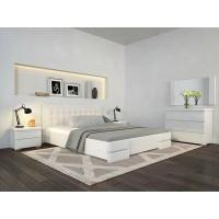 Двоспальне ліжко Арбор Древ Регіна Люкс 160х200 бук (LB160)