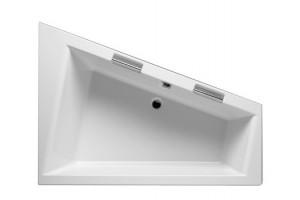 Ванна Riho Doppio асиметрична 180x130 см, L (BA91)