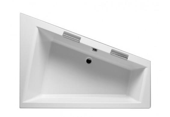 Ванна Riho Doppio асиметрична 180x130 см, L + ніжки (BA91)