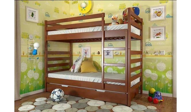 Двоярусне ліжко Арбор Древ Ріо 80х190 сосна (DRS80)