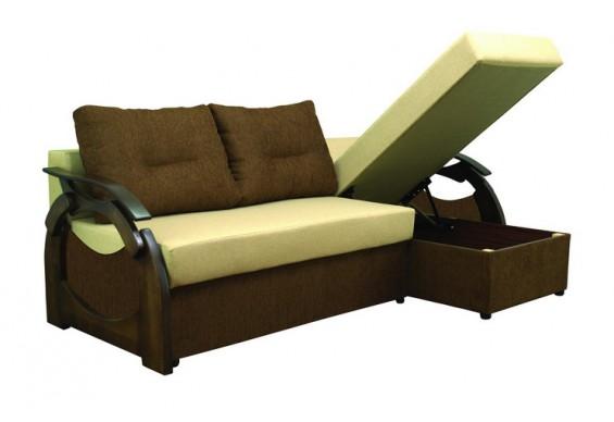 Кутовий диван ТМ Віка Скіл A (VK-27)