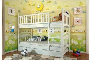 Двоярусне ліжко Арбор Древ Смайл 80х200 сосна (ARS80.2)