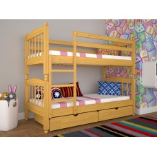 Двоярусне ліжко ТИС Трансформер 3 80x190 бук (TS15)