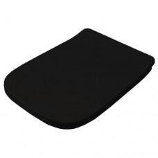 Сидіння soft-close з кришкою для унітазу ArtCeram A16, glossy black (ASA0010300)