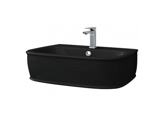 Підвісний умивальник ArtСeram Azuley, glossy black (AZL0030300)