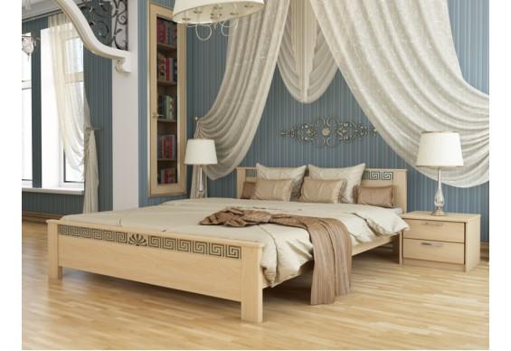 Двоспальне ліжко Естелла Афіна 160х200 буковий масив (DV-29)