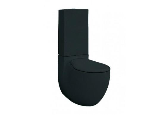 Унітаз моноблок ArtCeram Blend, glossy black (BLV0030300)