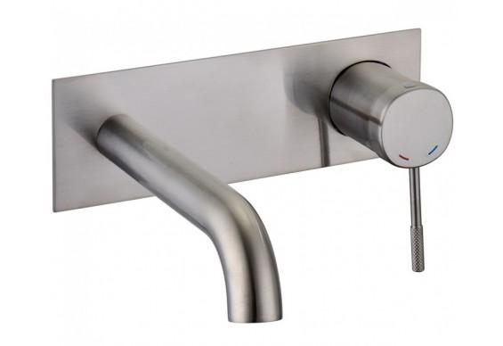 Змішувач для умивальника Imprese Brenta 35 мм, нікель (ZMK081906030)