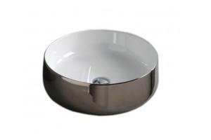 Умивальник на стільницю ArtCeram Cognac 35, platinum (COL0040157)