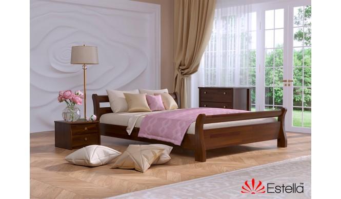 Односпальне ліжко Естелла Діана 120х200 буковий щит (OL-09)