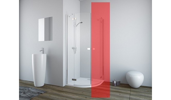 Ліва частина душової кабіни Radaway Fuenta New PDD 100 (384003-01-01L)