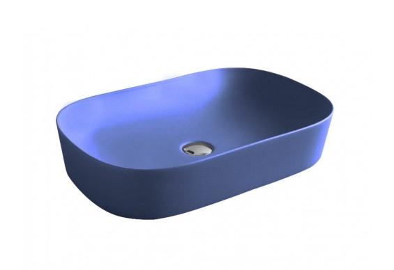 Умивальник на стільницю ArtCeram Ghost 65, blue sapphire (GHL0021500)