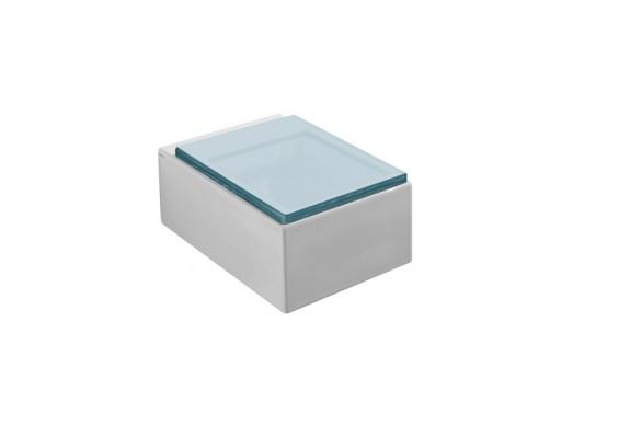 Підвісний унітаз GSG GLASS 53 см white glossy (GLWC01000)