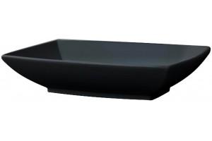Умивальник на стільницю ArtCeram Jazz, glossy black (JZL0020300)