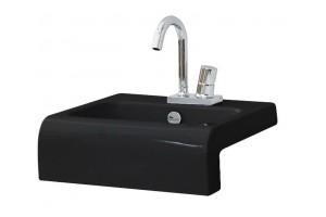 Умивальник на стільницю ArtCeram La Fontana, glossy black (LFL0040300)