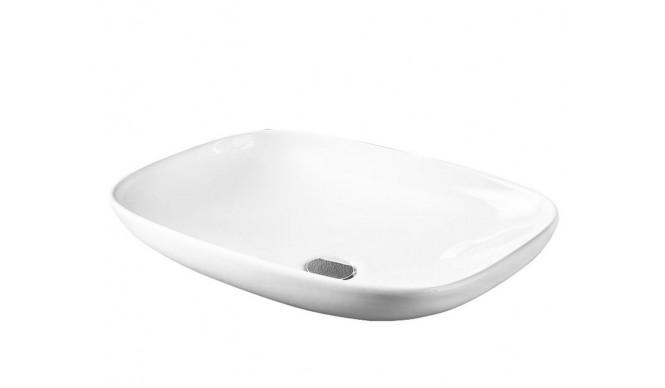 Умивальник на стільницю ArtCeram La Fontana, matt white (LFL0060500)