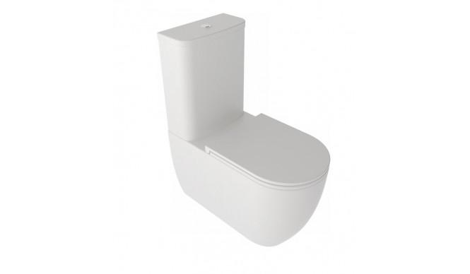 Унітаз моноблок GSG LIKE 69 см Smart Clean white matt (LKMBL001)