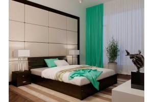Односпальне ліжко НеоМеблі Лагуна з підйомним механізмом 90х200 (NM41)