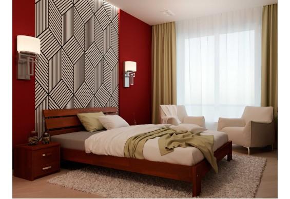 Двоспальне ліжко НеоМеблі Лагуна 160х200 (NM25/200)
