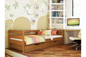 Дитяче ліжко Естелла Нота 80х190 буковий масив (DL-07)