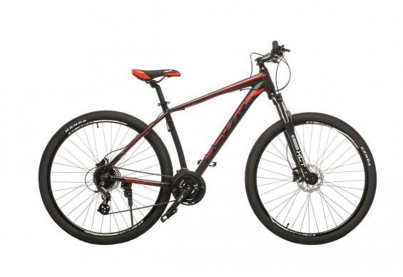 """Велосипед Oskar 29"""" JURA, чорно-зелений (29-1806h-rd)"""